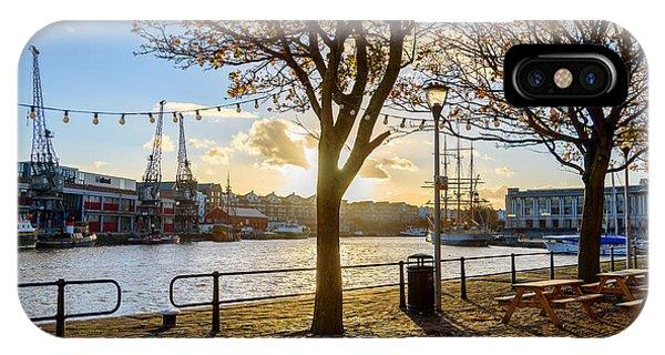 Bristol Harbour IPhone Case