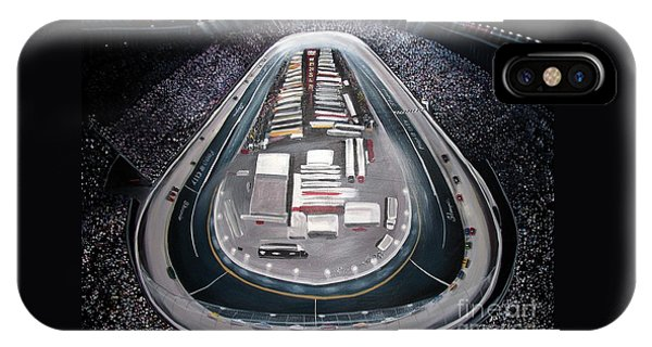 Bristol Motor Speedway Racing The Way It Ought To Be IPhone Case