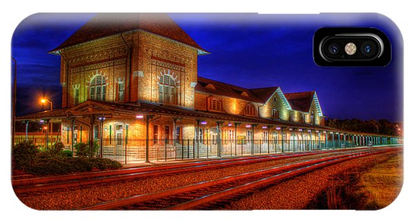Bristol Train Station IPhone Case