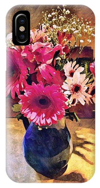 Brithday Wish Bouquet IPhone Case