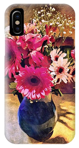 Brithday Wish Bouquet IPhone Case