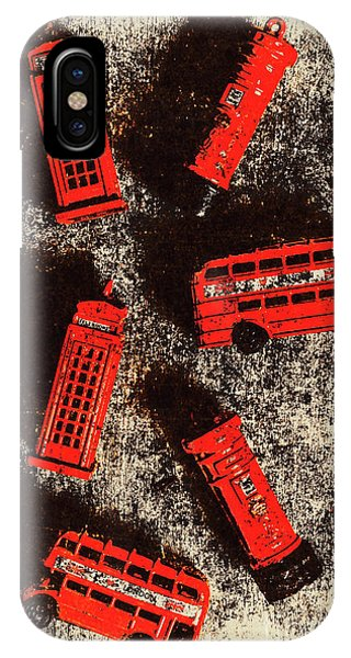 Greater London iPhone Case - British Memories by Jorgo Photography - Wall Art Gallery