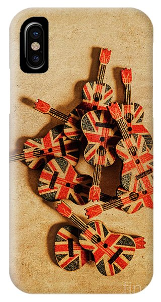 Punk Rock iPhone Case - British Sound Stage by Jorgo Photography - Wall Art Gallery
