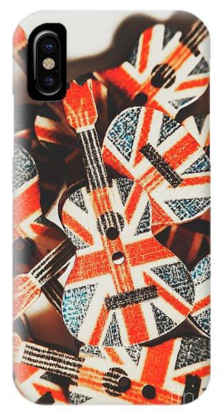 Punk Rock iPhone Case - Britpop Nostalgia by Jorgo Photography - Wall Art Gallery