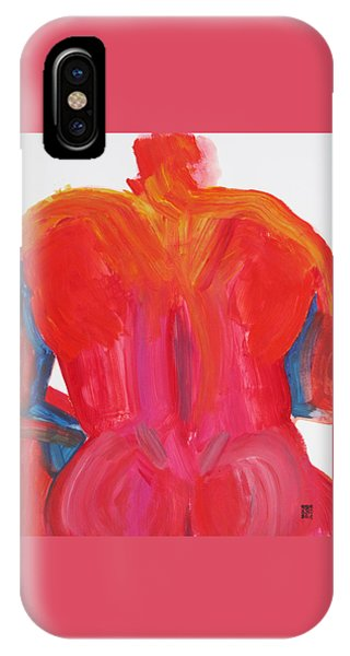 Broad Back Red IPhone Case