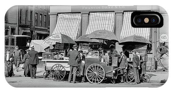 Broad St. Lunch Carts New York IPhone Case