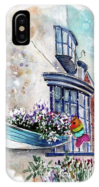 iPhone Case - Broadies By The Sea In Staithes by Miki De Goodaboom