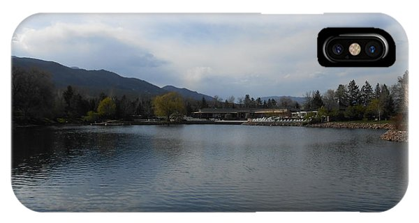 Broadmoor Lake2 IPhone Case