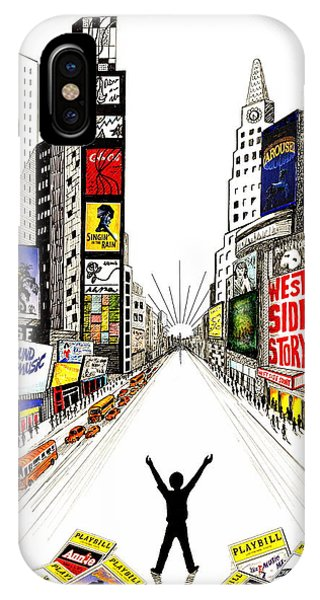 Broadway Dreamin' IPhone Case