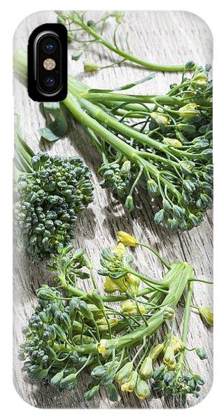 Broccoli iPhone Case - Broccoli Florets by Elena Elisseeva