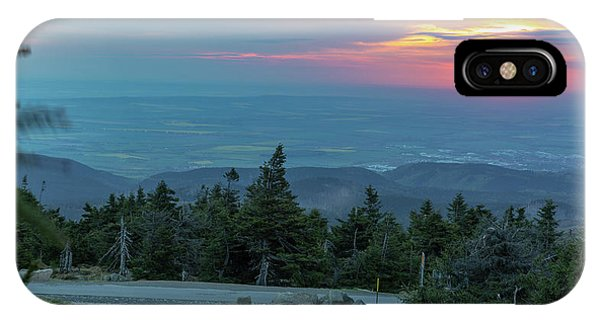 IPhone Case featuring the photograph Brocken, Harz - Just After Sunrise by Andreas Levi