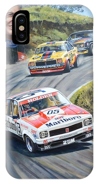 Brock's Bathurst Portrait IPhone Case