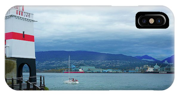 Brockton Point Lighthouse In Stanley Park IPhone Case
