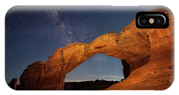 Broken Arch And Milky Way IPhone Case