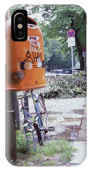 Broken Bike In Berlin IPhone Case