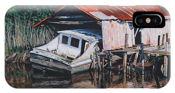 Broken Boat IPhone Case
