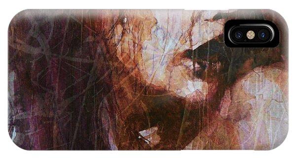 Lust iPhone Case - Broken Down Angel by Paul Lovering