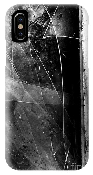 Urban Decay iPhone Case - Broken Glass Window by Jorgo Photography - Wall Art Gallery