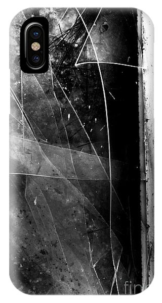 Abandoned Houses iPhone Case - Broken Glass Window by Jorgo Photography - Wall Art Gallery