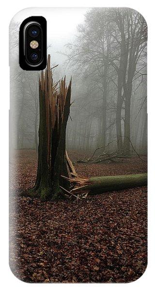Broken Oak IPhone Case