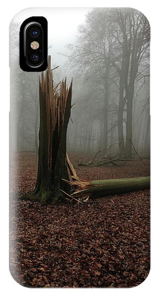 Broken Oak IPhone Case