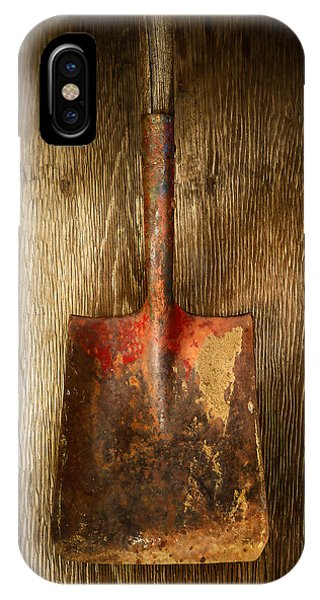 Tools On Wood 2 IPhone Case