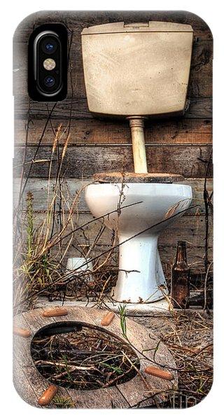Broken Toilet IPhone Case