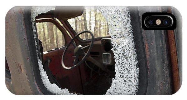 Broken Window IPhone Case