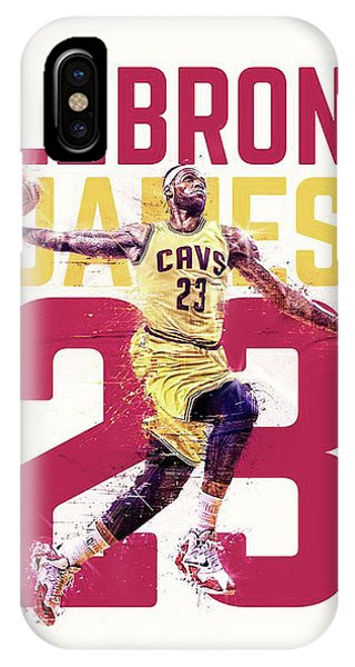 Kyrie Irving iPhone Case - Bronbron by Jeric Barnutz