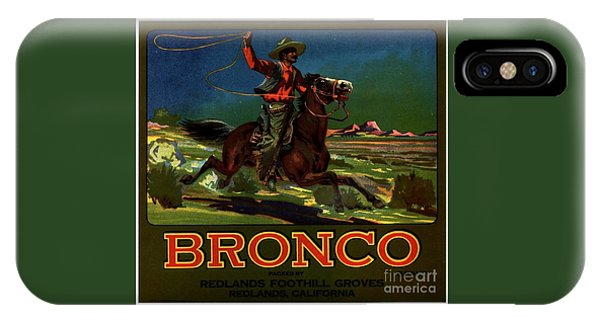 Bronco Redlands California IPhone Case
