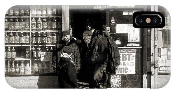 Bronx Scene IPhone Case