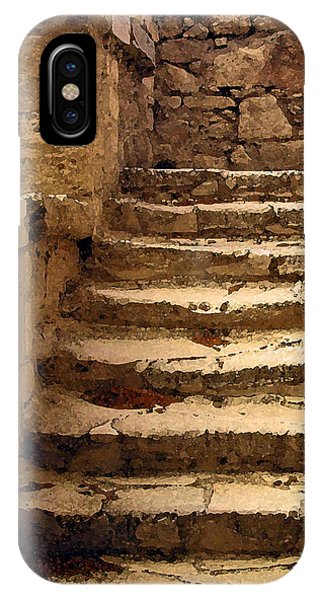 Bronze Age Stairs IPhone Case