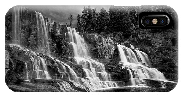 Brooding Gooseberry Falls IPhone Case