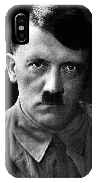 Brooding Portrait Of Adolf Hitler Heinrich Hoffman Photo Circa 1935 IPhone Case