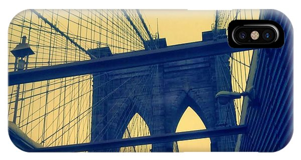 New York City's Famous Brooklyn Bridge IPhone Case