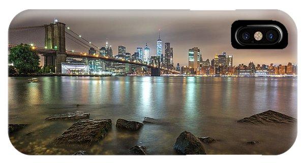Brooklyn Bridge At Sunrise  IPhone Case