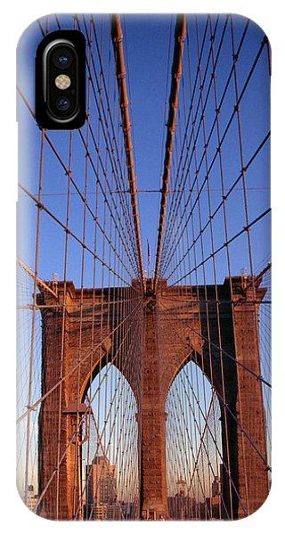 New York City iPhone Case - Brooklyn Bridge by Brooklyn Bridge