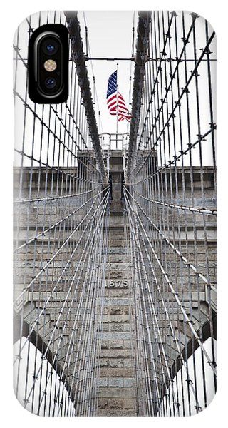 Brooklyn Bridge Flag IPhone Case