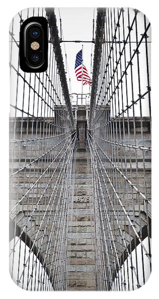 Brooklyn Bridge Flag IPhone Case