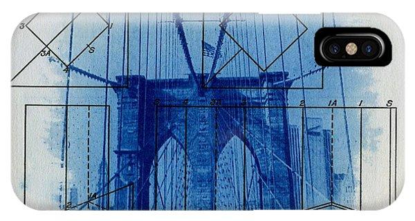 New York City iPhone Case - Brooklyn Bridge by Jane Linders