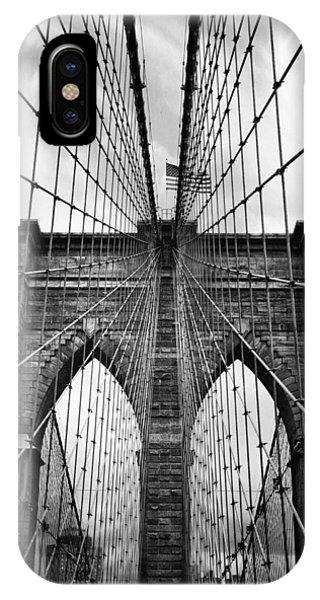 Brooklyn Bridge Mood IPhone Case