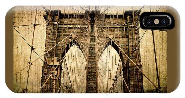 Brooklyn Bridge Nostalgia IPhone Case