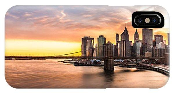 Brooklyn Bridge Panorama IPhone Case