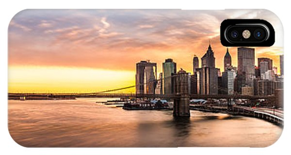 Brooklyn Bridge Panorama IPhone Case