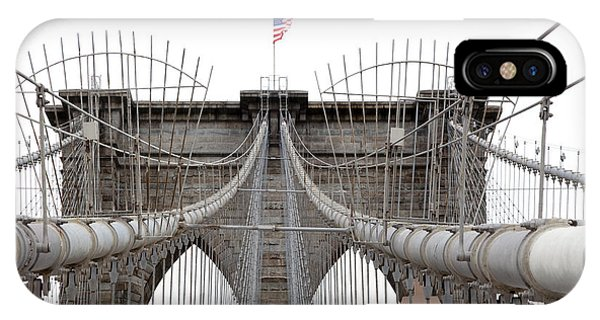 Brooklyn Bridge Top IPhone Case