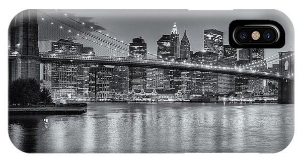 Brooklyn Bridge Twilight II IPhone Case