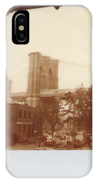 Brooklyn Bridge With Ip Px100 Film IPhone Case