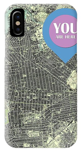 New Trend iPhone Case - Brooklyn New York 1947 Old Map You Are Here by Drawspots Illustrations