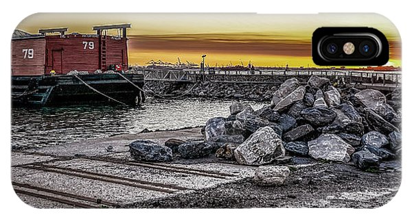 Brooklyn Waterfront Sunset IPhone Case