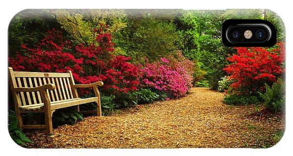 Brookside Gardens IPhone Case